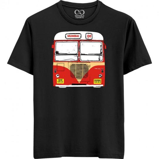 Mumbai Bus T-shirt