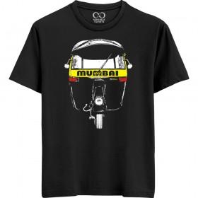 Mumbai Rickshaw - Black T-shirt