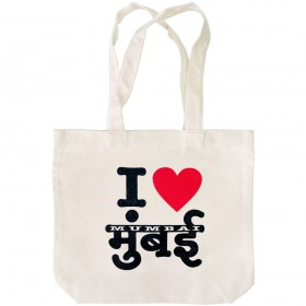 I Love Mumbai Tote Bag