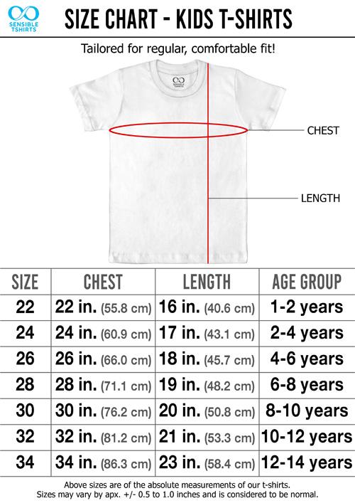 Size Chart Kids